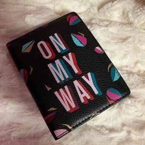 Fossil 'On My Way' Leather Passport Case